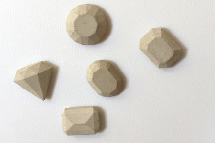 DIY Cement Magnets