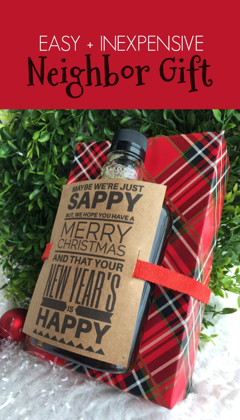 Easy Inexpensive Neighbor Gift
