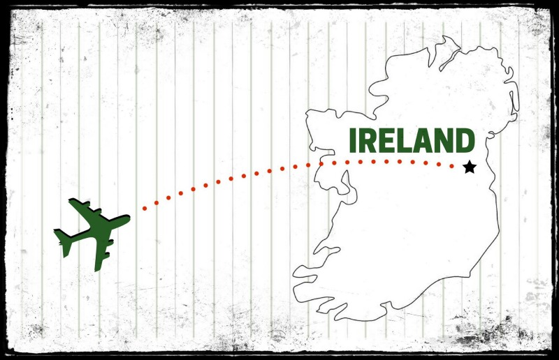 We're going to Ireland!